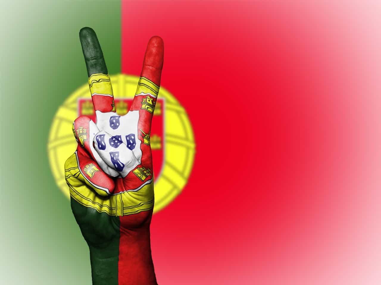 הצבעים של דגל פורטוגל