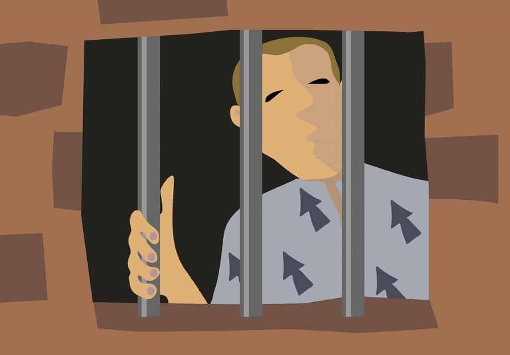 איש בכלא